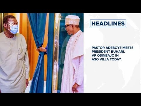 Adeboye meets President Buhari, VP in Aso Villa today, Nigerias curve gradually flattening – NCDC