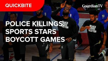 Jacob Blake shooting: Top American athletes boycott games in protest