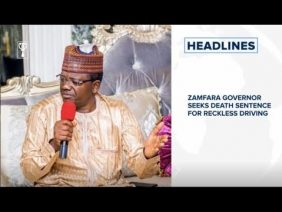 Zamfara Governor seeks death sentence for reckless driving⁣, F1: Hamilton wins Belgian Grand Prix⁣